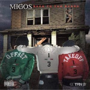 Migos - back to the bando. Copertina del disco.