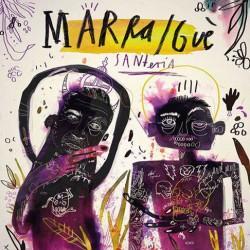 La cover del disco ''Santeria''. Il nuovo album di Marracash e Gue Pequeno.